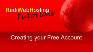 Setting Up your Free Web Hosting Account