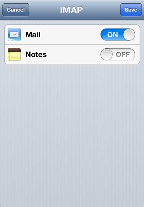 iPhone Mail Account Set Up