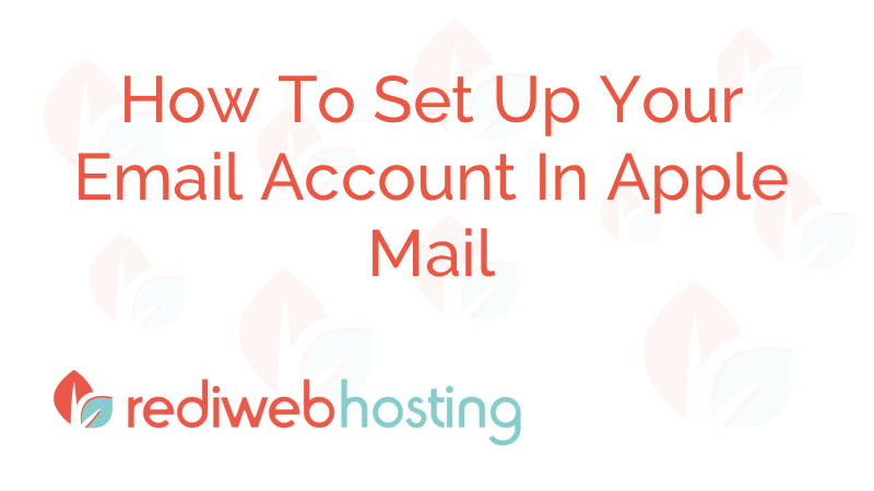 Apple Mail Email Accounts