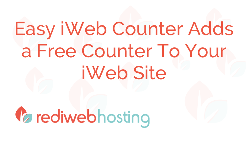 Iweb Counter