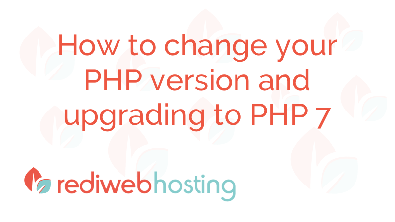 Change Your Php Version
